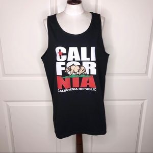California Republic Graphic Tank